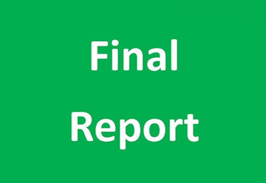2018 Final Reports